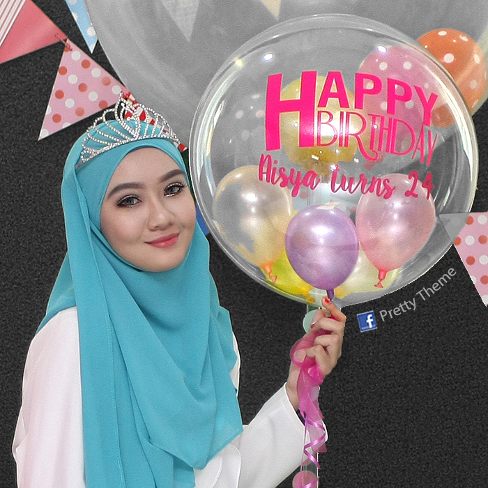Pretty Theme Event Planner: Balloon Muar Belon Muar yeay!