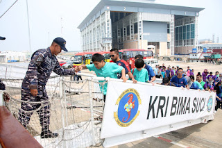 KRI Bima Suci Jadi Primadona di Brunei