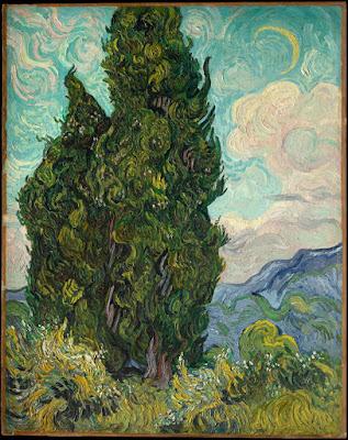 Van Gogh -Cypres,1889.