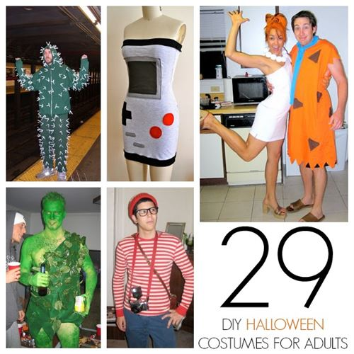 Unique DIY Halloween Costumes For Women