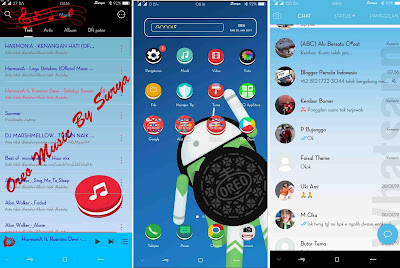 Theme OPPO Super Oreo For OPPO F5, F7, A83, A3S