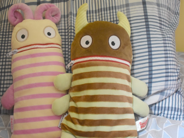 Worry Eaters - Cuddly Monsters To Help Ease Your Little Ones Worries {Review}