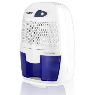 mini déshumidificateur Finether capacité 250 ml/J