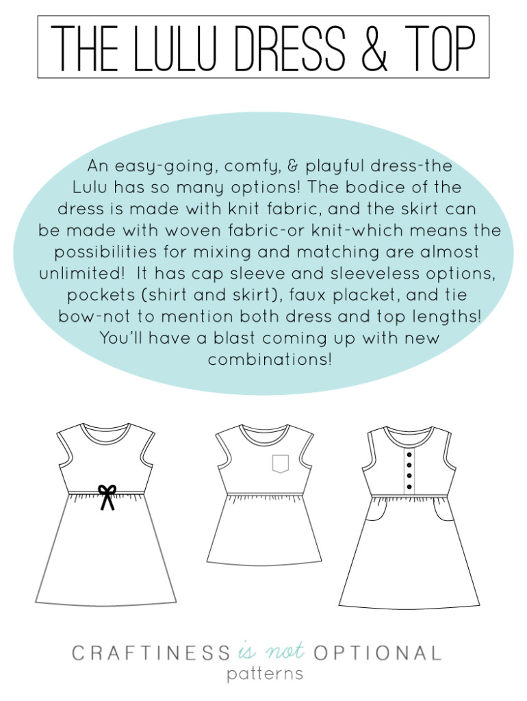 Sewing Like Mad: The Lulu Dress by CINO - Pattern Review