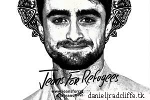 Updated(2): Daniel Radcliffe supports the Jeans for Refugees project