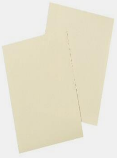 Gambar Kertas Padalarang, warna putih kecoklatan