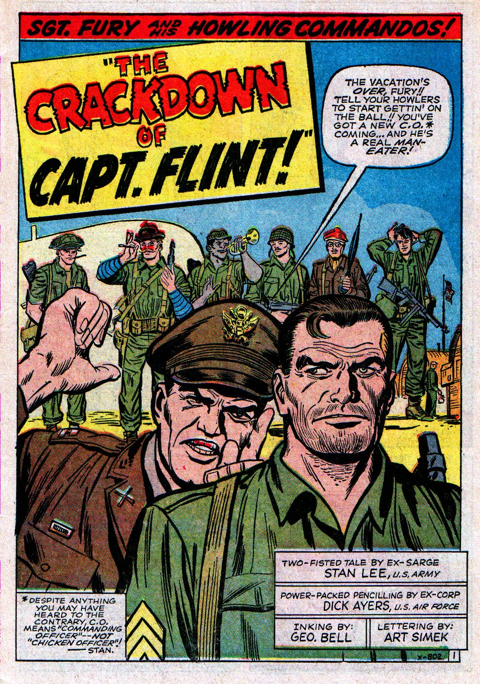 Read online Sgt. Fury comic -  Issue #11 - 3
