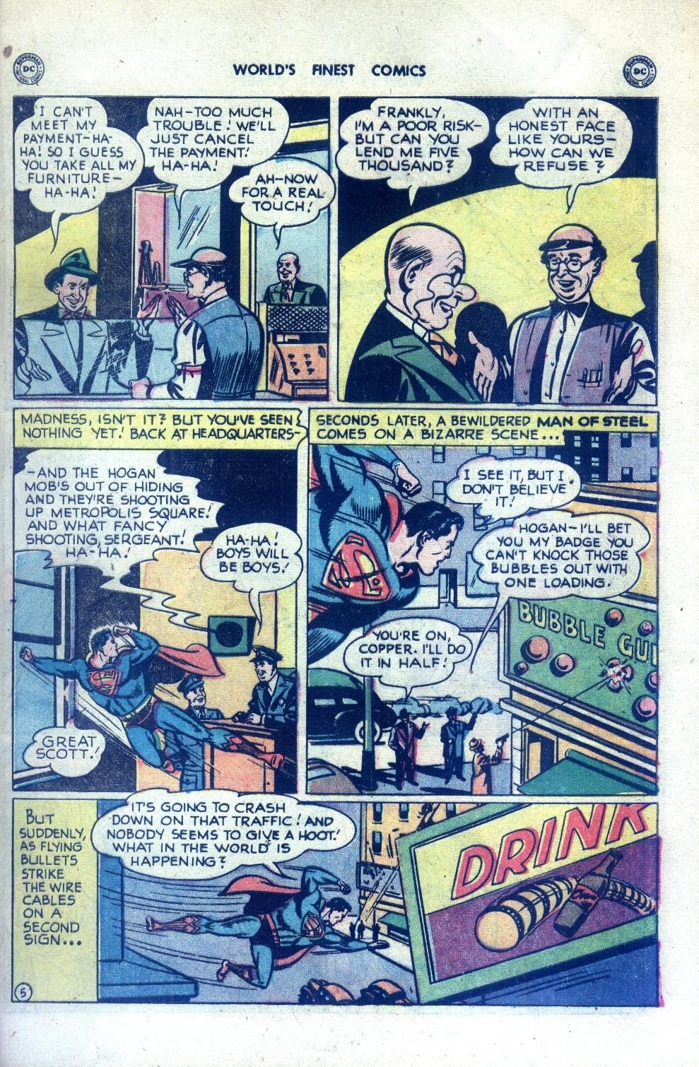 Read online World's Finest Comics comic -  Issue #43 - 7