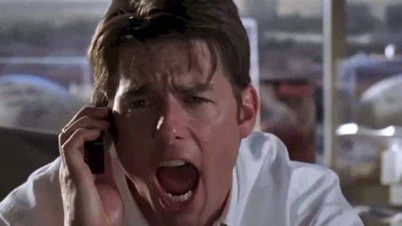 Tom Cruise als Jerry Maguire