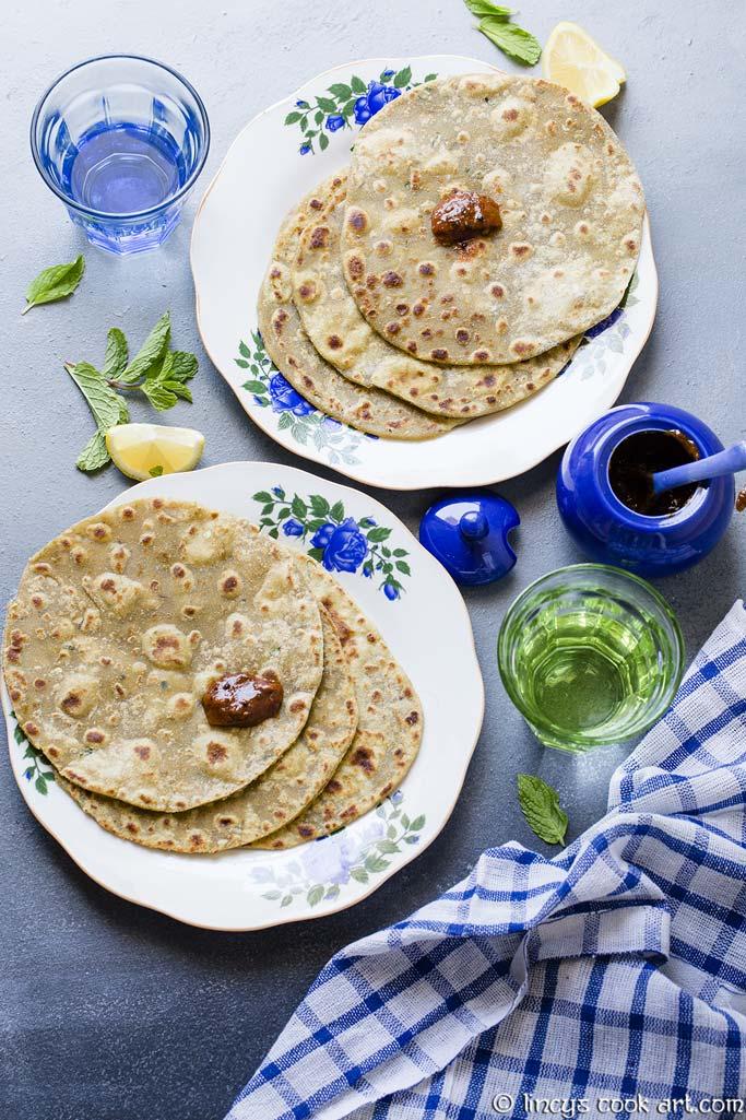 Guacamole paratha recipe