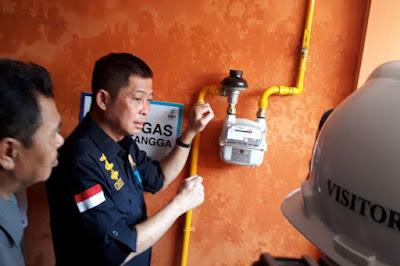 Menteri Jonan: Tolong Peralatan Jaringan Gas Dijaga, Jangan Sampai Rusak - Info Presiden Jokowi Dan Pemerintah