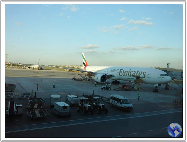 Voando Emirates Airlines