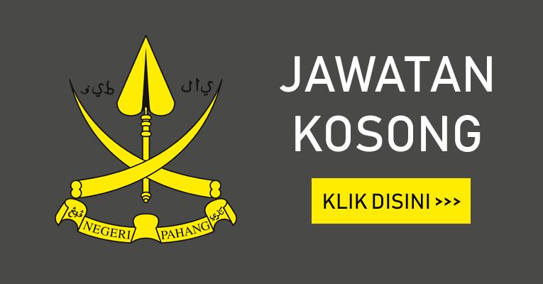 Jawatan Kosong Terkini di Negeri Pahang