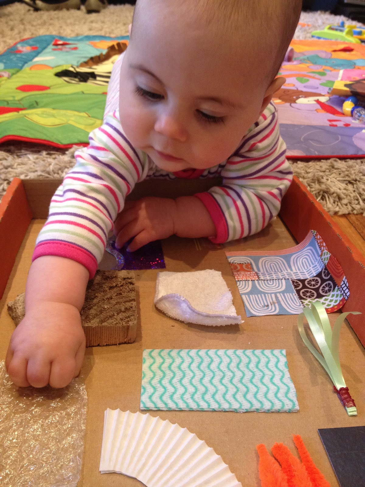 Diy Toddler Boy Haircut: DIY Sensory Board For Babies
