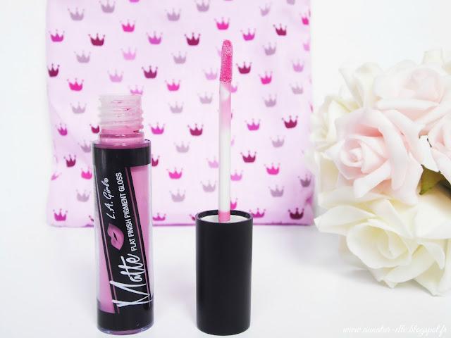 rouge à lèvre L.A girls - my pocket make up