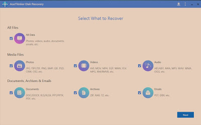 Hard Disk Data Recovery with AceThinker Disk Recovery for Win and Mac 365 Days Promo