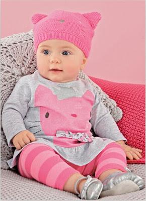 Model Baju Bayi Perempuan setelan