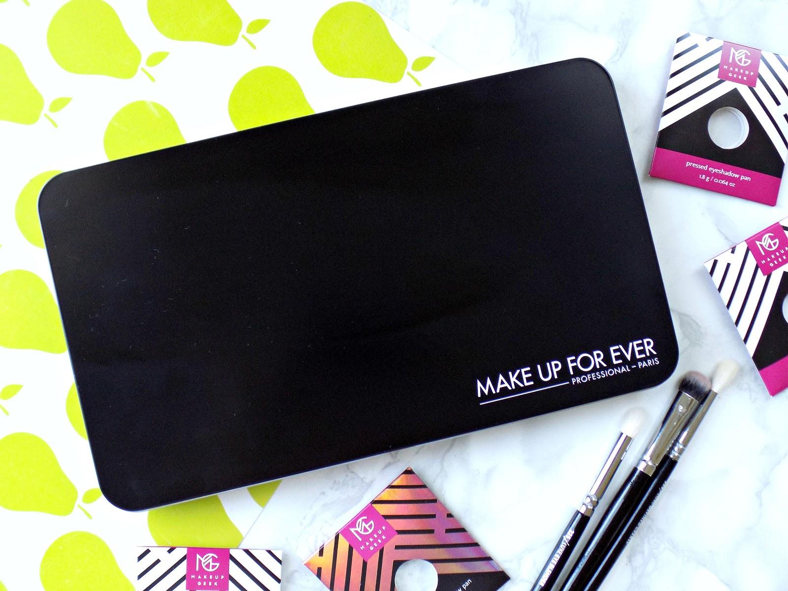 Makeup Geek eyeshadows, my collection