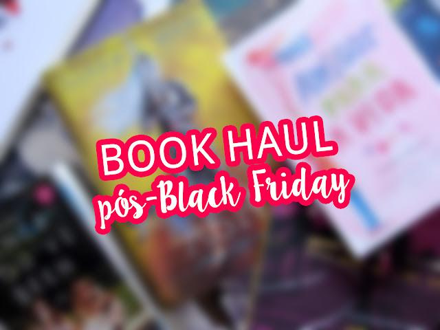 Book Haul pós-Black Friday