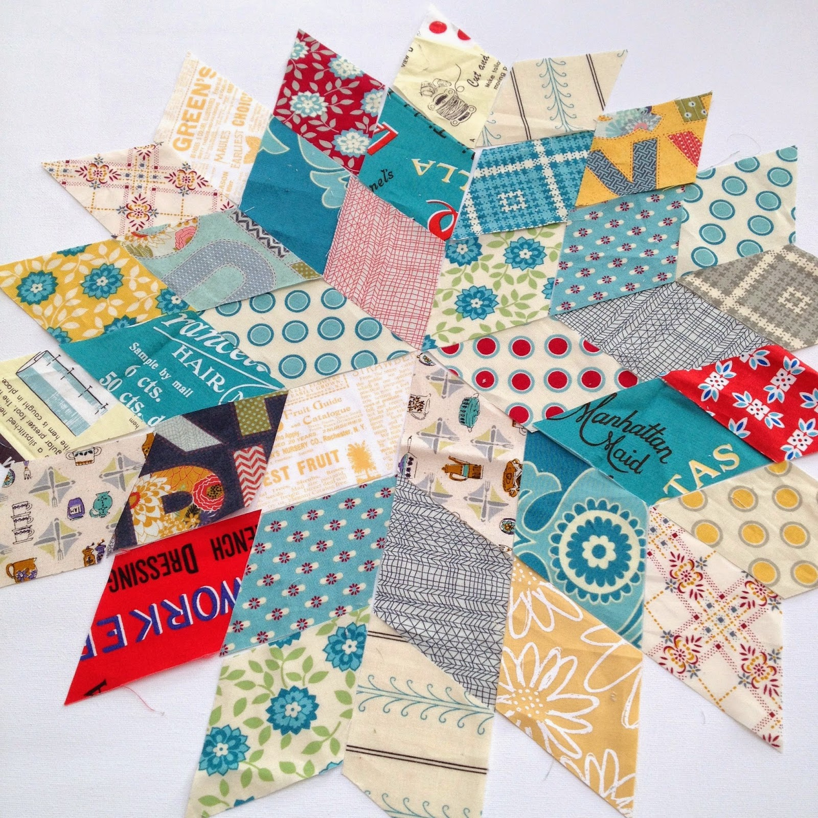 Jaybird Pattern Review - Rock Candy - Sew Sweetness : 60 degree ruler quilting - Adamdwight.com