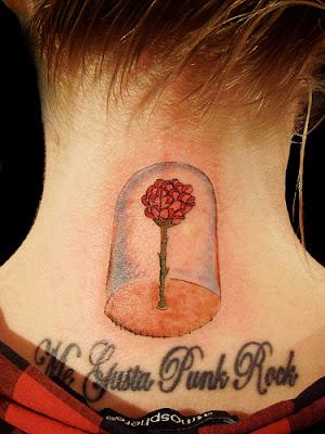 Tatuaje de la rosa de El Principito