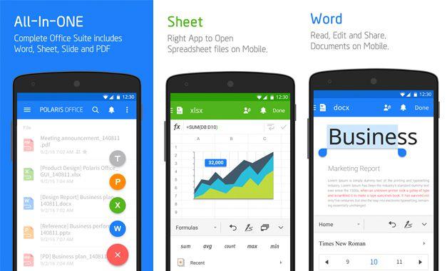 3 Aplikasi Office Terbaik Dan Terpopuler Di Android