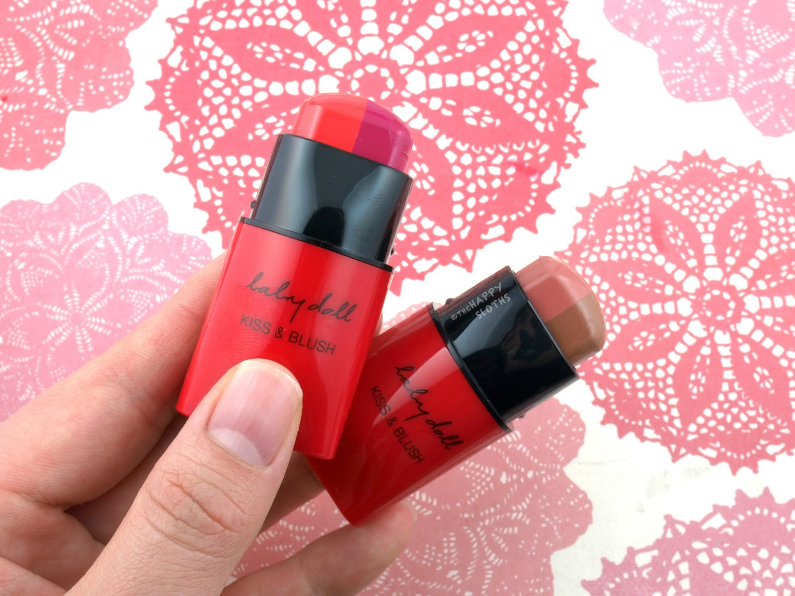 Yves Saint Laurent Baby Doll Kiss & Blush Duo Stick: Review and Swatches