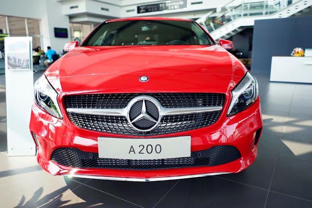 Mercedes A200 2017 là mẫu Hatback cỡ nhỏ