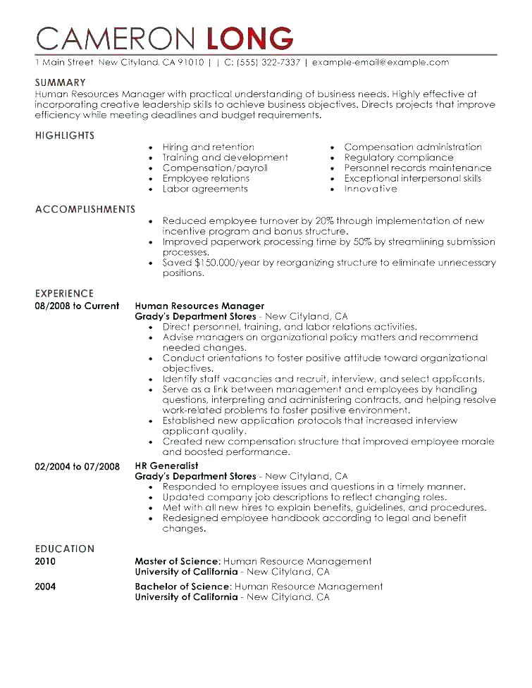 Military Veteran Resume Examples 2019 - Resume Templates