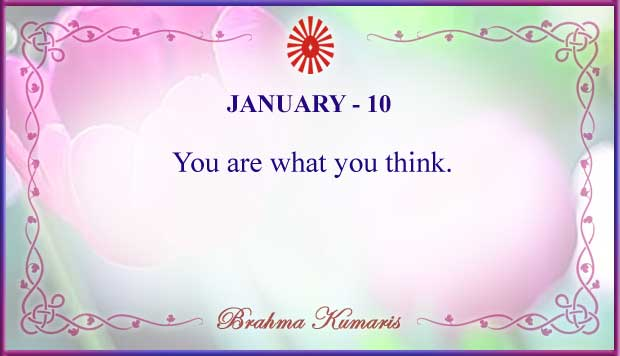 Thought For The Day January 10