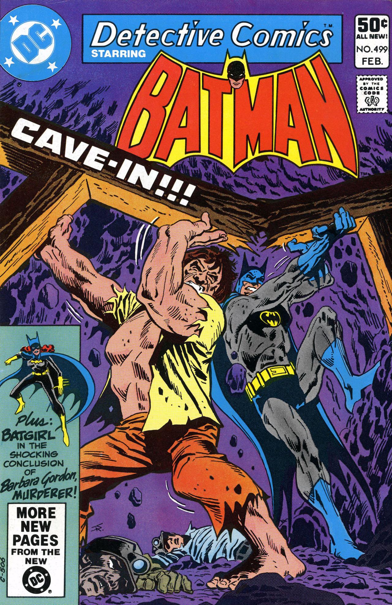 Detective Comics (1937) 499 Page 1