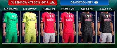 Kits SL Benfica 2016-2017 Pes 2013 By Deadpool