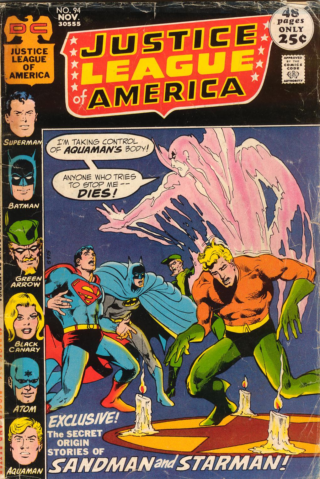Justice League of America (1960) 94 Page 1