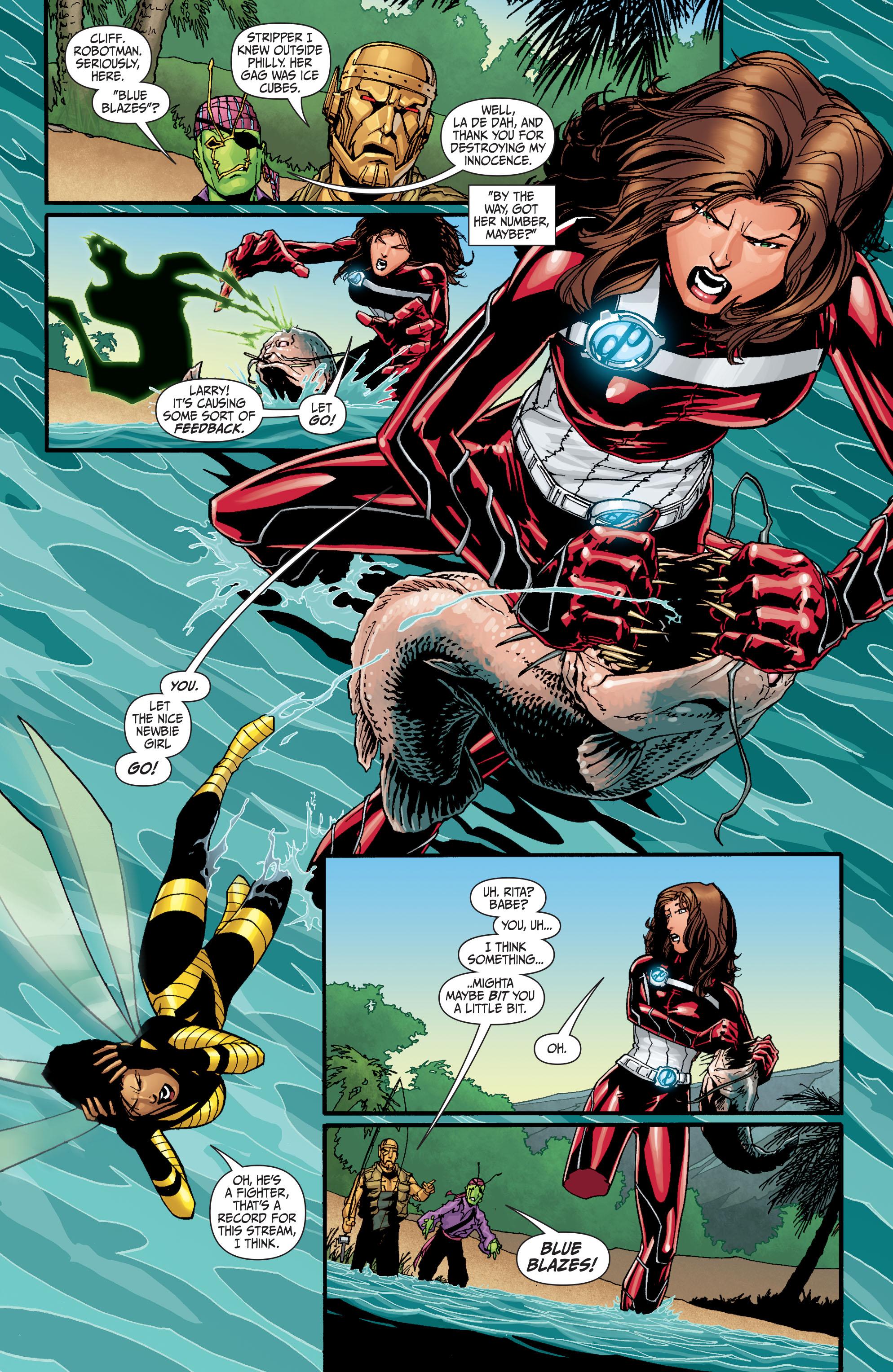 Read online Secret Six (2008) comic -  Issue #30 - 13