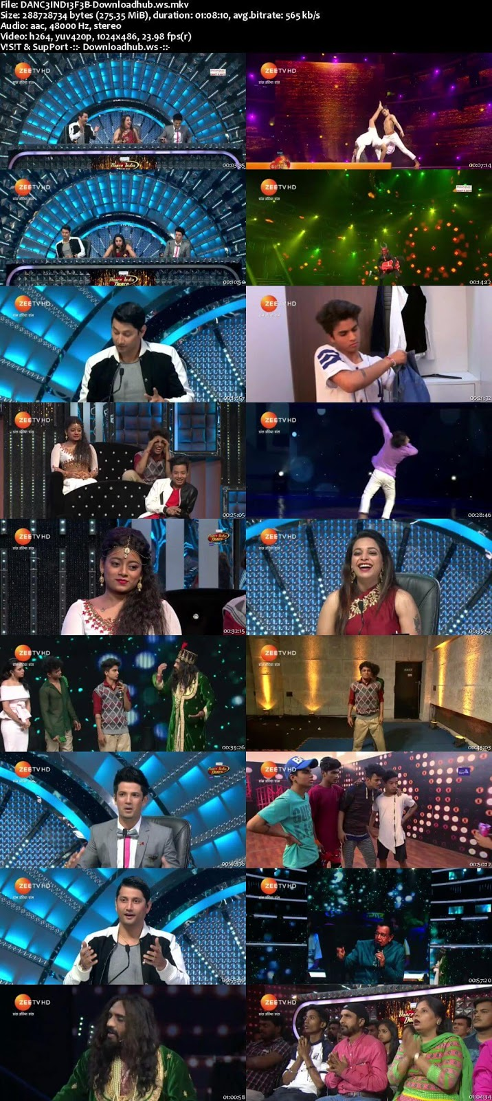 Dance India Dance 6 03 February 2018 Episode 26 HDTV 480p