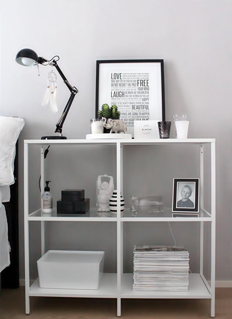 la dolce vita blog black and white bedroom decor