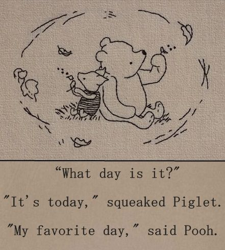 Winnie The Pooh Day Quote