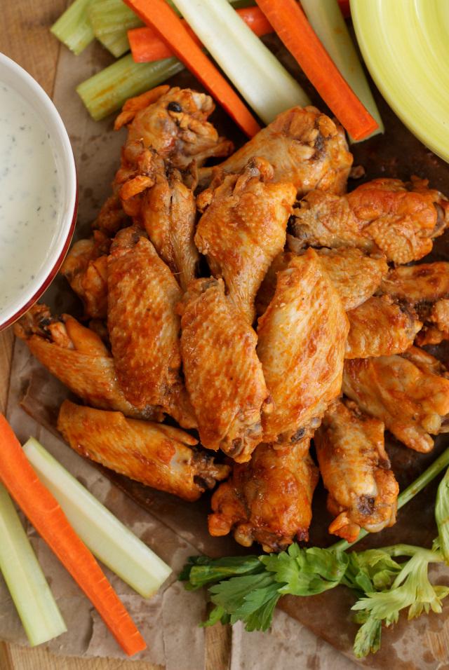Crock Pot Buffalo Chicken Wings   The Two Bite Club