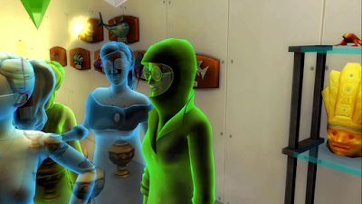 sims 4 ghost of freezing to death