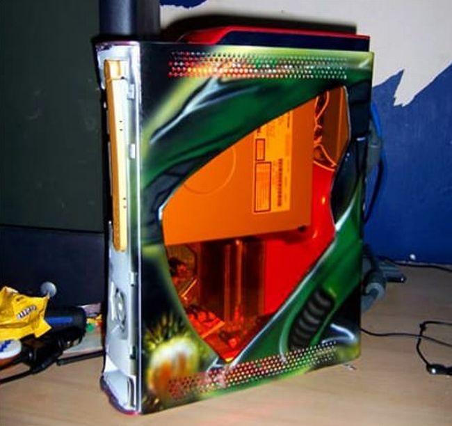 Xbox 360 Slim Console Mods Xbox 360 Coolin...