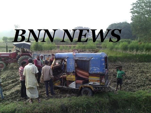 देपुरा में पलटा टैंपू, सात जख्मी