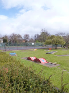 Woking Park Crazy Golf course
