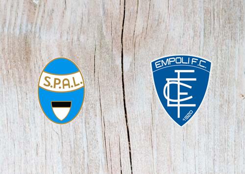 SPAL 2013 vs Empoli Highlights 01 December 2018