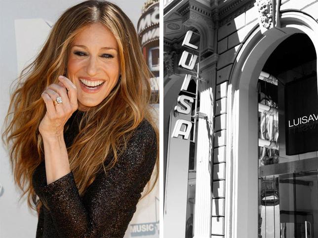 Carla lima fala de moda sarah jessica parker estilista for Via lima 7 roma