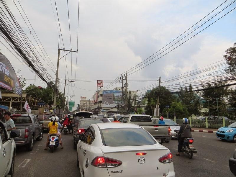 Пробка в Таиланде
