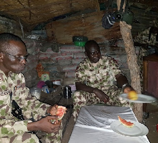 Chief of Army Staff (COAS), Lt Gen Tukur Buratai