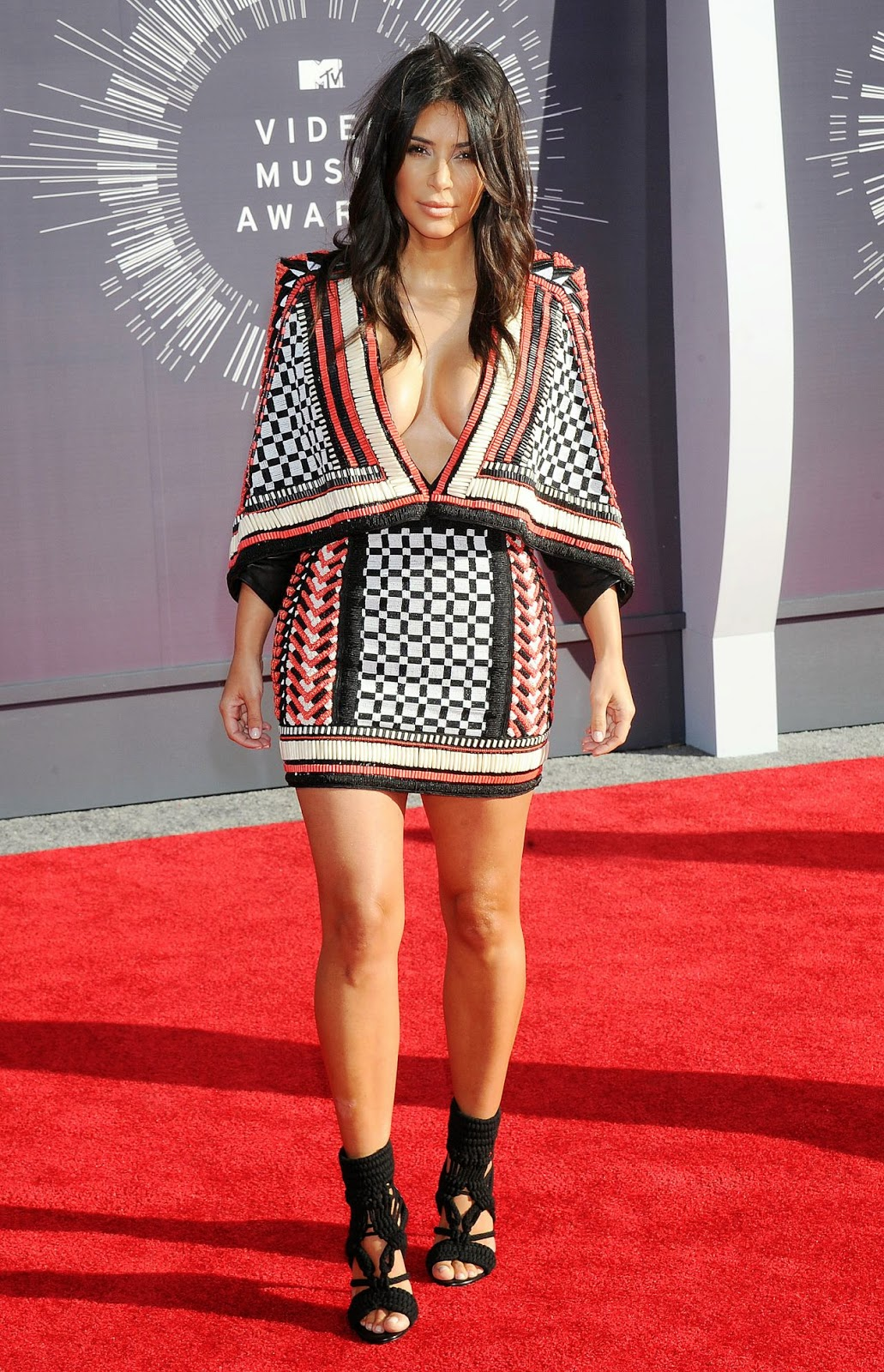 Kim Kardashian – 2014 MTV Video Music Awards in Inglewood #VMA