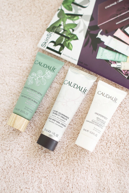 SkinStore, Caudalie, Beauty box, beauty blogger, Luxury skincare, natural products
