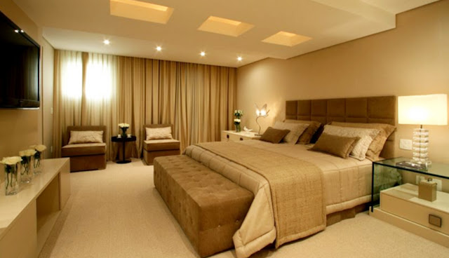 Iluminação quartos e sala