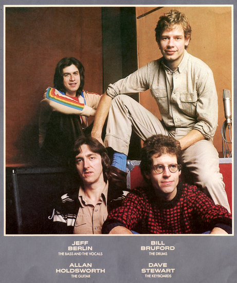 Devil Take The Hindmost The Otherworldly Music Of Allan Holdsworth 12 Bruford One Of A Kind 1979